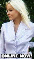 Blonde Babe Profile Shot